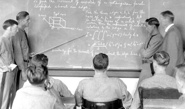 studentsChalkboard